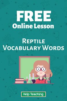 Practice questions available! You can try answering the questions first before watching the online lesson video to see what you already know. #vocabulary #scienceed #onlinelesson #onlinelearning