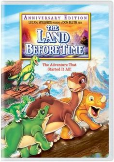 The Land Before Time (Anniversary Edition) - Kids & Family #DVD #Movies #Film #DVDs #Collection #Must #See #Have #Gift #Christmas #Wishlist #TV #Movie #Shows #Kids #Kids #Children #Child #Family #onlinedvds $3.85