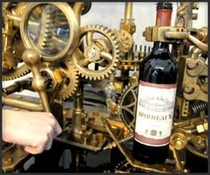 Steampunk Corkscrew.  yes, Yes, YES!  A thousand times YES!