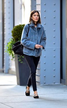 Alexa Chung out and about in New York | November 15, 2016
