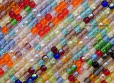 1000 Bulk 4mm Assorted Preciosa Boho Czech Glass Round Druk Beads 10 Strand Lot #PreciosaOrnela #Czech
