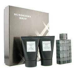 Burberry Brit Coffret: Eau De Toilette Spray 100ml/3.3oz + Body Cleansing Gel 100ml/3.3oz + After Shave Balm 100ml/3.3oz 3pcs - http://aromata24.gr/burberry-brit-coffret-eau-de-toilette-spray-100ml3-3oz-body-cleansing-gel-100ml3-3oz-after-shave-balm-100ml3-3oz-3pcs/