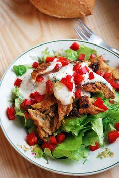 Vegaanihaaste - Vegaanin kanaton kanasalaatti