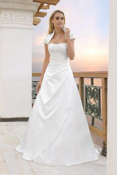 Ladybird bruidsjurk 94001 collectie 2014 – wedding dress - Xsasa bruidsmode