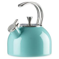 Add eye-catching functionality to your kitchen with the 2.5-qt. All in Good Taste Tea Kettle by kate spade new york.