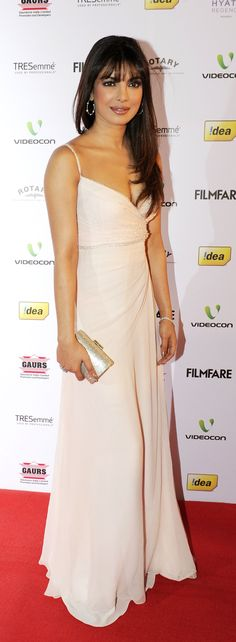 PC at the Filmfare nominations night 2013