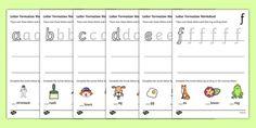 Line Handwriting Activity Sheets