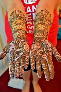 mehndi maharani finalist: Lali Creations http://maharaniweddings.com/gallery/photo/26883