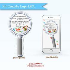Kit de Convites Lupa DPA
