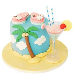 Flip Flops Cake delivered anywhere in the London area. Plus over 800 other cake designs, made fresh to order. Click for London's favourite cake maker