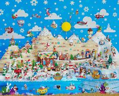 """Ornamental Wonderland"" ~ a 1000 piece jigsaw puzzle from the Hallmark Keepsake Collection of Springbok Puzzles (2014)"