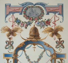 Ornamental panel with Ceres. 2