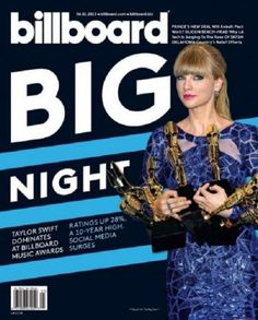 Taylor Swift - Billboard Magazine Cover [United States] (1 June 2013)