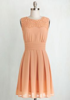 V.I.Pleased Dress in Peach http://rstyle.me/n/bv8gfen2bn