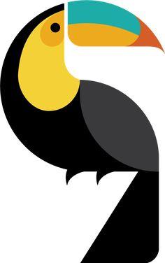 The country of Belize, reimagined. Geometric Art, Art Painting, Illustration, Art Projects, Art, Animal Graphic, Bird Illustration, Pop Art, Bird Art