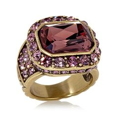 """Heidi Daus """"Tailored to Please"""" Crystal Ring"""