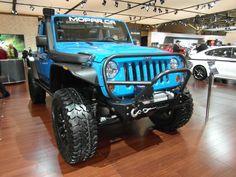 Auto show 2012  The big Jeep Wrangler