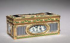 French snuff box, ca. 1774
