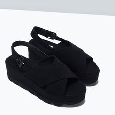 Zara PLATFORM WEDGE