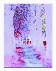 """'Stoffdesign """"Traumallee"""" pp' von Rudolf Büttner bei artflakes.com als Poster oder Kunstdruck $18.71"""