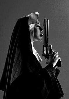 Nuns and cannons Poesia Visual, Space Ghost, Lol, Girls Club, Art Store, Bad Habits, Belle Photo, Black And White Photography, Concept Art