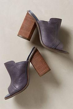 Bowery Mules #anthropologie