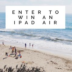 Another exciting #giveaway on the blog!  Come check out & enter to win an iPad Air!  Enter daily for more chances to win!  Fabulous and Brunette: iPad Air Giveaway - Enter Daily!