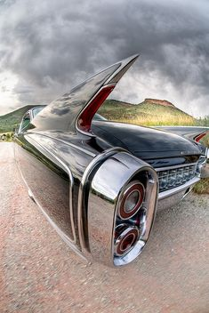 1960 Cadillac Eldorado - that was the time when a Cadillac...was a Cadillac. You could spot it a mile away...and you just new! Today's look...is a waste!