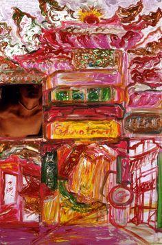 Simone Gad @ L2kontemporary  Facades and Exploding Fu-dogs