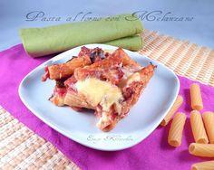 Pasta al forno con melanzane ricetta facile|Easy Kitchen