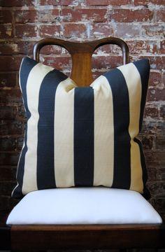 outdoor gatsby stripe pillow #marthaandash