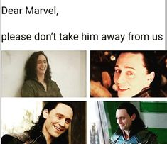I miss my boi, but I know he's gonna be in avengers Tom is in the cast members- so I think we're safe? Loki Thor, Loki Laufeyson, Tom Hiddleston Loki, Marvel Avengers, Avengers Memes, Marvel Memes, Geek Girls, Marvel Cinematic Universe, Fangirl