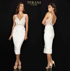 TERANI COUTURE 2011C2005 authentic dress. FREE FEDEX. BEST PRICE   eBay Terani Couture, Slit Skirt, Types Of Sleeves, Bodice, Notes, Formal Dresses, Skirts, Free, Ebay