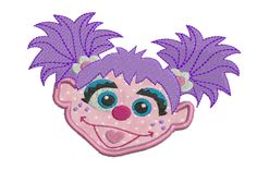 Abby Cadabby Partial Applique Set- 2 sizes