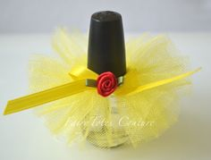Beauty and the Beast Inspired Nail Polish Tutu                                                                                                                                                                                 More