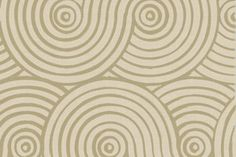 Patterned Wallpaper: Swirls Caramel/Cream. Audrey Sterk.