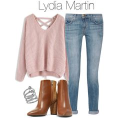 Lydia Martin simple outfit - tw / teen wolf