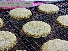 Scottish Oat Cakes (like Walkers Highland Oatcakes) Gluten-free plus vegan option