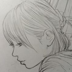 @egutihisasi 髪描くの飽きない。
