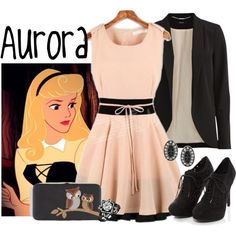 """Aurora"" by alyssa-eatinger on Polyvore. Channeling my inner Disney princess."