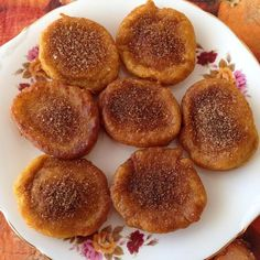 Cuisine: South African Pumpkin fritters or Pampoen koekies in Afrikaans are delicious for breakfast or dessert.