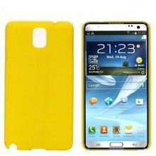Coque Galaxy Note 3 - Ultra fine Jaune  5,99 €