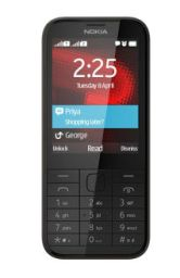 Nokia 225 Dual SIM Mobile Black at Lowest Online Price at Rs 2487 Only - Best Online Offer