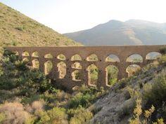 Acueducto de los 20 Ojos del cauce del Barranco de Carcauz photo from:   almeriavirtual.blogspot.com