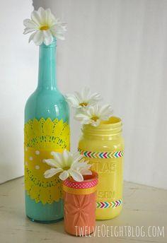 DIY Paper Doily Flowers - Todays Creative Blog