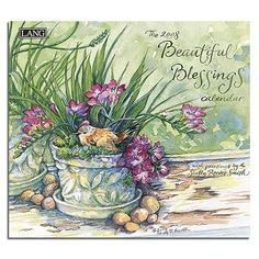 Colleen Eubanks Paintings | Buy Beautiful Blessings by Shelly Reeves Smith 2008 Lang Wall Calendar