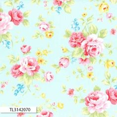 ANTIQUE FLOWER PASTEL 31420
