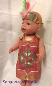 Baby Born nukelle liivimekko Doll Toys, Dolls, Stuffed Toys Patterns, Doll Clothes, Kids, Handicraft Ideas, La Perla Lingerie, Baby Dolls, Young Children