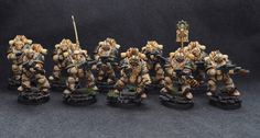 Loyalist Death Guard Legion Assault Squad - Full Squad formation