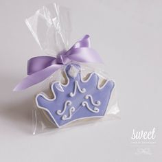 Princess Crown Cookie Favors // One Dozen by sweetcookieboutique, $33.00